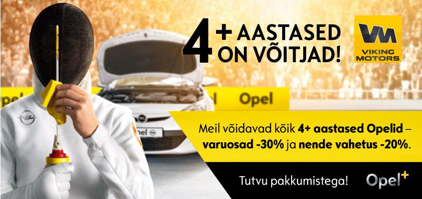 Opel pluss Viking Motors