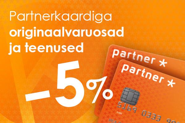 Partnerkaardi soodustus -5% Viking Motors