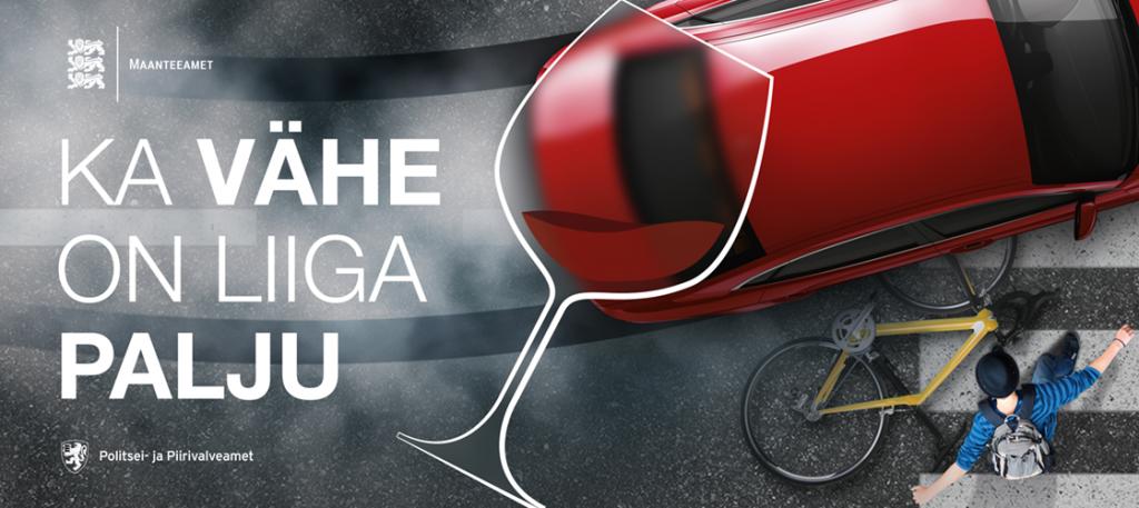 Maanteeameti kampaania - Ka vähe on liiga palju! , Viking Motors