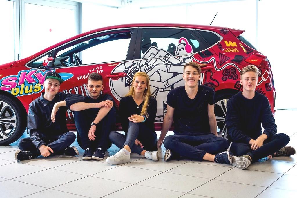 Sky Plusi ja Viking Motorsi ühiskampaania