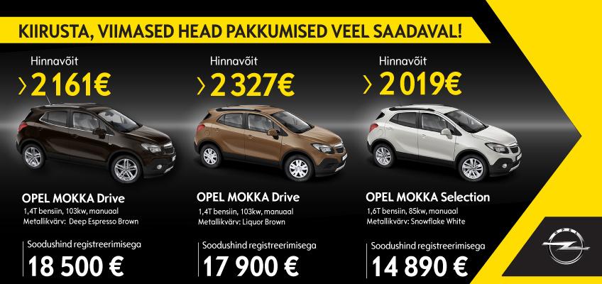 Opel Mokka Kampaania