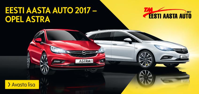Opel Astra aasta auto